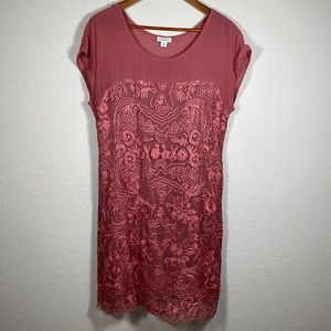 Sundance Lelian Rose Embroidered Dress